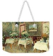 Van Gogh: Restaurant, 1887 Weekender Tote Bag