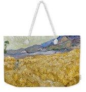 Van Gogh: Wheatfield, 1889 Weekender Tote Bag