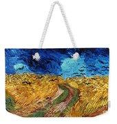 Van Gogh: Wheatfield, 1890 Weekender Tote Bag