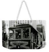 Van Ness And Market Cable Car- By Linda Woods Weekender Tote Bag