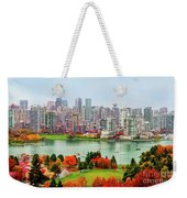 Vancouver After The Rain Weekender Tote Bag