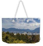 Vancouver Bc Skyline Daytime View Weekender Tote Bag