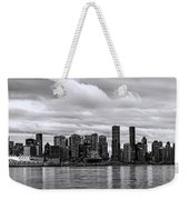Vancouver In Black And White. Weekender Tote Bag