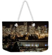 Vancouver Lights Weekender Tote Bag