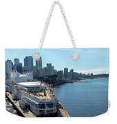 Vancouver01 Weekender Tote Bag