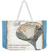 Vanilla Martini Weekender Tote Bag