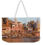 Varanasi From Ganges River Weekender Tote Bag