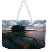 Variations Of Sunsets At Gulf Of Bothnia 6 Weekender Tote Bag