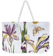 Variegated Iris Weekender Tote Bag