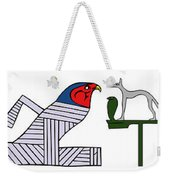 various demons of ancient Egypt Weekender Tote Bag