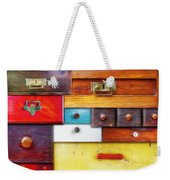 Various Old Drawers - In Utter Secrecy Weekender Tote Bag