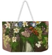 Vase Of Flowers #1 Weekender Tote Bag