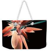 Vase Of Flowers Abstract Weekender Tote Bag