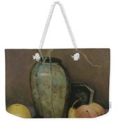 Vase With Fruit Weekender Tote Bag
