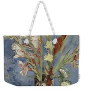Vase With Gladioli And Chinese Asters Paris, August - September 1886 Vincent Van Gogh 1853  1890 Weekender Tote Bag