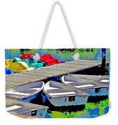 Boats Summer Vasona Park Weekender Tote Bag