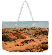 Vast Desert Valley Of Fire Weekender Tote Bag