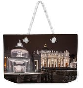 Vatican City Weekender Tote Bag