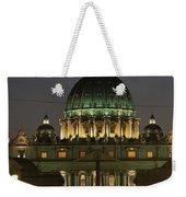 Vatican, Rome, Italy.  Night View Weekender Tote Bag