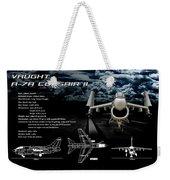 Vaught A-7a Corsair II Weekender Tote Bag