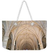Vaulted Ceiling And Arches Weekender Tote Bag