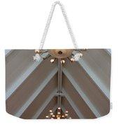 Vaulted Lights Weekender Tote Bag