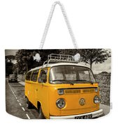 Vdub In Orange  Weekender Tote Bag
