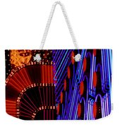 Vegas Lights Weekender Tote Bag