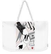 Vegas Night Weekender Tote Bag