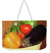 Vegetable Bowl Weekender Tote Bag