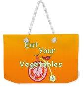 Vegetable Kitchen Decor Weekender Tote Bag