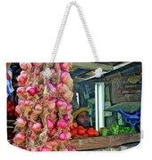 Vegetable Stand 2 Weekender Tote Bag