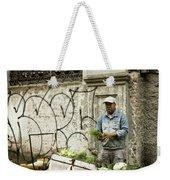 Vegetable Vendor Havana Cuba Weekender Tote Bag