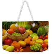 Vegetables And Fruits  Weekender Tote Bag
