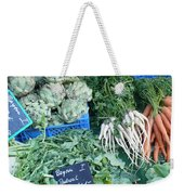Vegetables At German Market Weekender Tote Bag