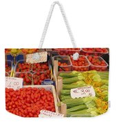 Vegetables At Italian Market Weekender Tote Bag