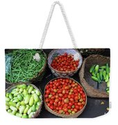 Vegetables In A Basket Weekender Tote Bag
