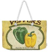Veggie Seed Pack 2 Weekender Tote Bag by Debbie DeWitt