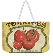 Veggie Seed Pack 3 Weekender Tote Bag by Debbie DeWitt