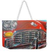 Vehicle- Grill Weekender Tote Bag
