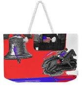 Vehicle Liberty Bell Paul Revere Flag Bicentennial Of Constitution Tucson Arizona 1987-2015 Weekender Tote Bag
