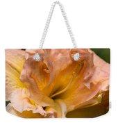 Veiled Mother Of Ivory Iris Weekender Tote Bag