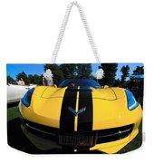 Velocity Yellow Weekender Tote Bag