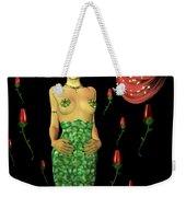 Velvet Mermaid Weekender Tote Bag