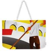 Venecia Art Deco Weekender Tote Bag