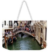 Venetian Bridge Weekender Tote Bag