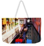 Venetian Canal Weekender Tote Bag by Jeff Kolker