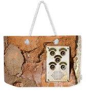 Venetian Door Bell Weekender Tote Bag
