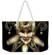 Venetian Mask Weekender Tote Bag by Fabrizio Troiani