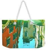 Venetian Mirror - Venice In Water Reflections Weekender Tote Bag
